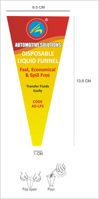Disposable Liquid Transfer Funnels